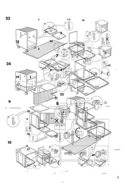 D Line Drawings Ikea : Hardest ikea furniture to assemble