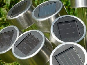 Garden solar lamps from IKEA